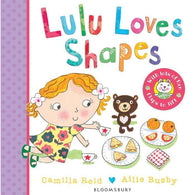 LuLu Loves Shapes (Board Book)-BuyBookBook