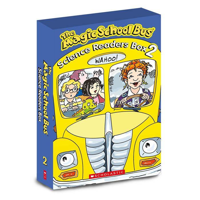 Magic School Bus Science Readers Collection 2 (10 Book)-BuyBookBook