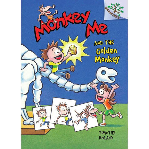 Monkey Me #01 and the Golden Monkey (Branches)-BuyBookBook