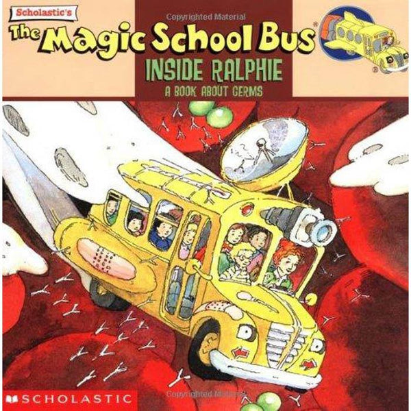 The Magic School Bus Inside Ralphie Book About Germs-BuyBookBook