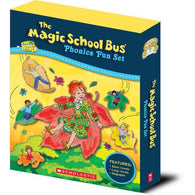 Magic School Bus Phonics Fun Collection (12 book + 1 CD)-BuyBookBook