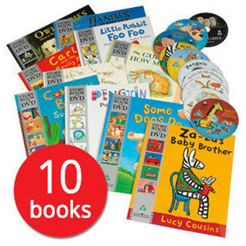 More Time for a Story Book and DVD Collection (10 Books)-BuyBookBook