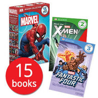 Marvel Readers Collection (15 Books)-BuyBookBook