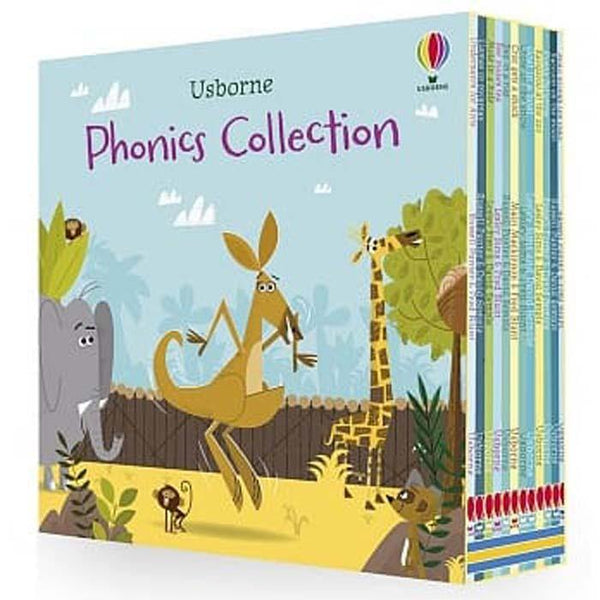 Usborne Mini Phonics Collection (12 Books)-BuyBookBook
