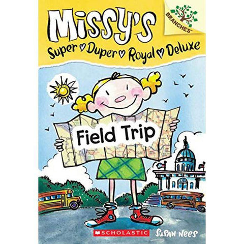 Missy's Super Duper Royal Deluxe #04 Field Trip (Book + CD) (Branches)-BuyBookBook