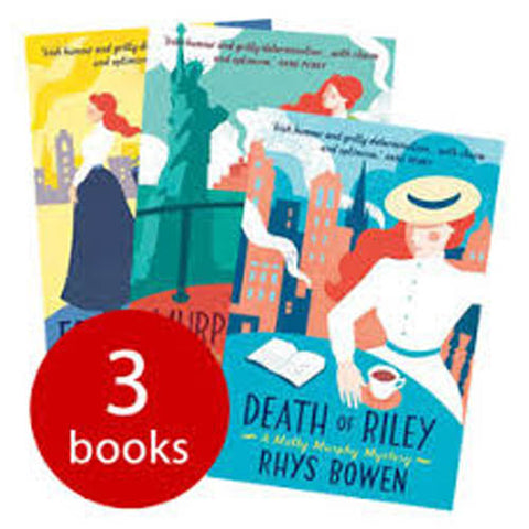 Molly Murphy Mysteries Collection (3 Books)-BuyBookBook
