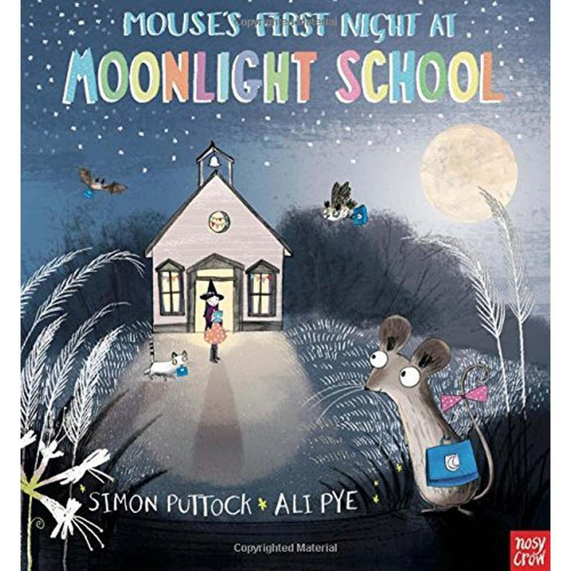 Mouse's First Night at Moonlight School (Paperback with QR Code)(Nosy Crow)-BuyBookBook