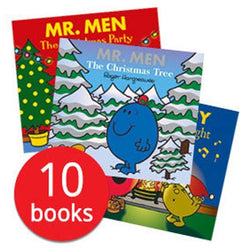 Mr Men Christmas Collection (10 Books)-BuyBookBook