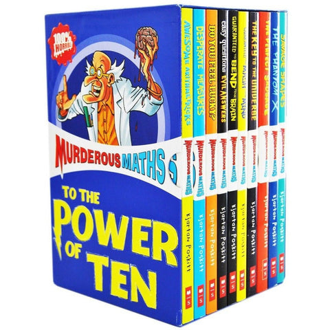 Murderous Maths To The Power of Ten (10 Books)-BuyBookBook