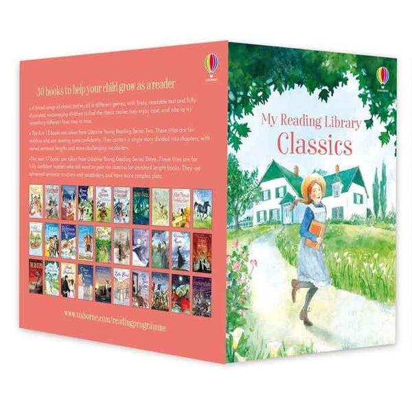 My Classics Reading Library (30 Books)-BuyBookBook