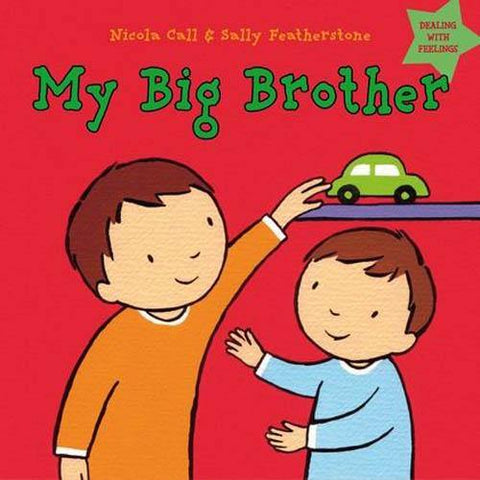 My Big Brother: Dealing with Feelings-BuyBookBook