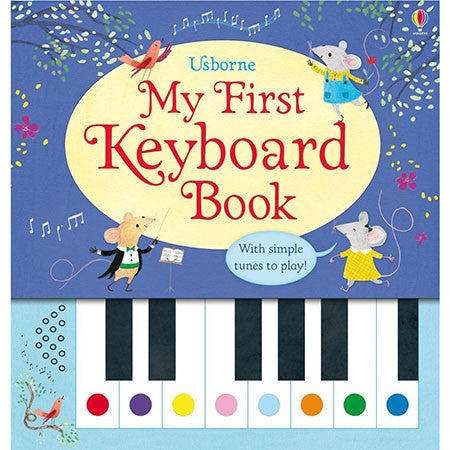 Usborne My First Keyboard Book-BuyBookBook