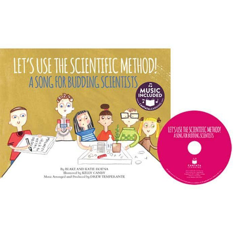My First Stem Song Let's Use the Scientific Method! (Book + CD)-BuyBookBook