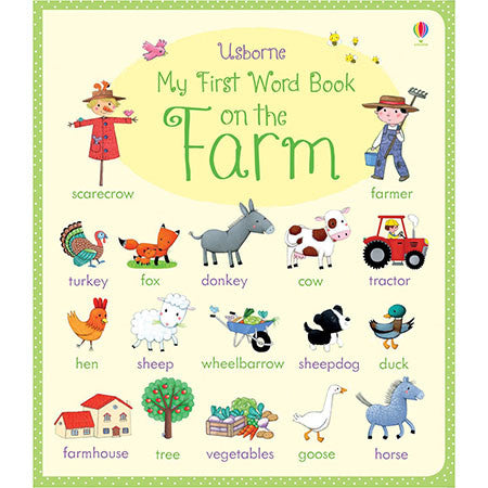 Usborne My First Word Book: On the Farm-BuyBookBook