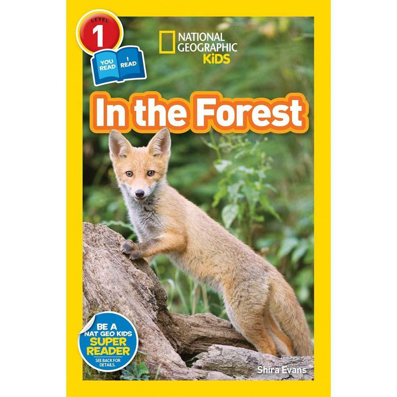 In the Forest (L1) (National Geographic Kids Readers)-BuyBookBook