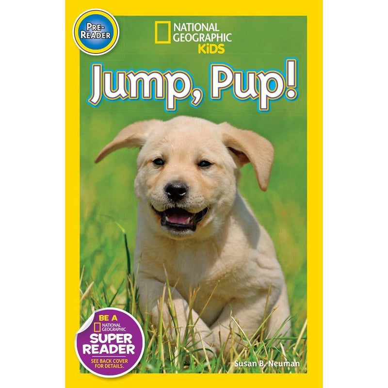Jump Pup! (L0) (National Geographic Kids Readers)-BuyBookBook