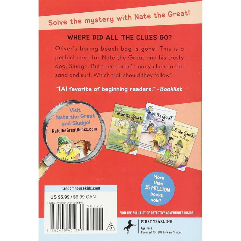 Nate the Great and the Boring Beach Bag-BuyBookBook