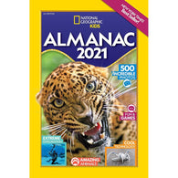 National Geographic Kids Almanac 2021 (U.S. Edition)-BuyBookBook