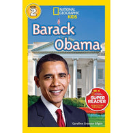 Barack Obama (L2) (National Geographic Kids Readers)-BuyBookBook