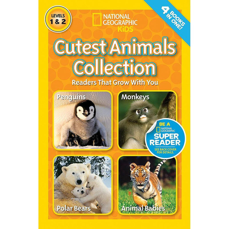 Cutest Animals Collection (L1 and L2) (National Geographic Kids Readers)-BuyBookBook