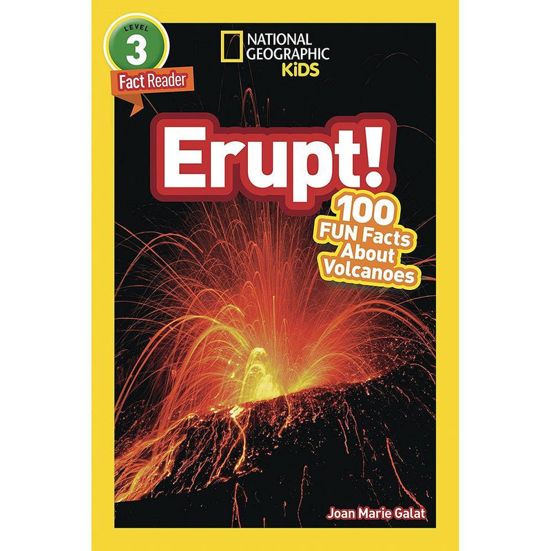 Erupt! 100 Fun Facts About Volcanoes (L3) (National Geographic Kids Readers)-BuyBookBook