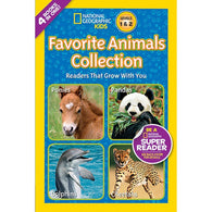 Favorite Animals Collection (L1 and L2) (National Geographic Kids Readers)-BuyBookBook