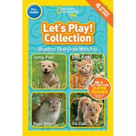 Let's Play Collection (Pre) (National Geographic Kids Readers)-BuyBookBook