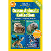 Ocean Animals Collection (L1 and L2) (National Geographic Kids Readers)-BuyBookBook