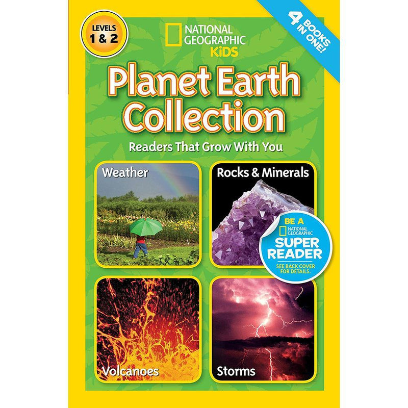 Planet Earth Collection (L1 and L2) (National Geographic Kids Readers)-BuyBookBook