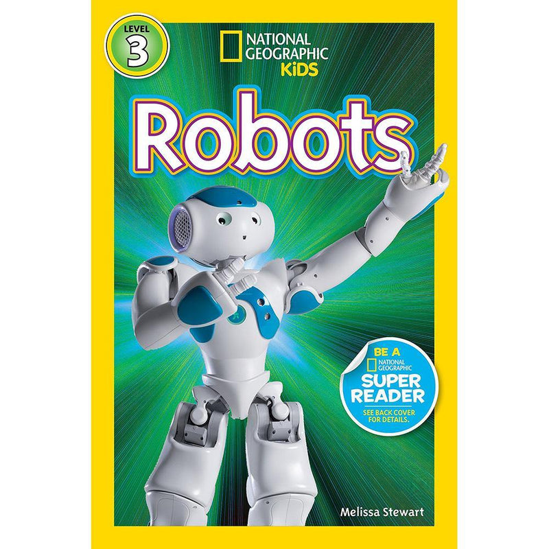Robots (L3) (National Geographic Kids Readers)-BuyBookBook