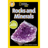 Rocks and Minerals (L2) (National Geographic Kids Readers)-BuyBookBook