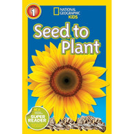 Seed to Plant (L1) (National Geographic Kids Readers)-BuyBookBook