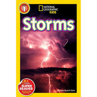 Storms! (L1) (National Geographic Kids Readers)-BuyBookBook