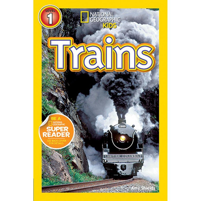 Trains (L1) (National Geographic Kids Readers)-BuyBookBook