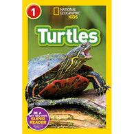 Turtles (L1) (National Geographic Kids Readers)-BuyBookBook