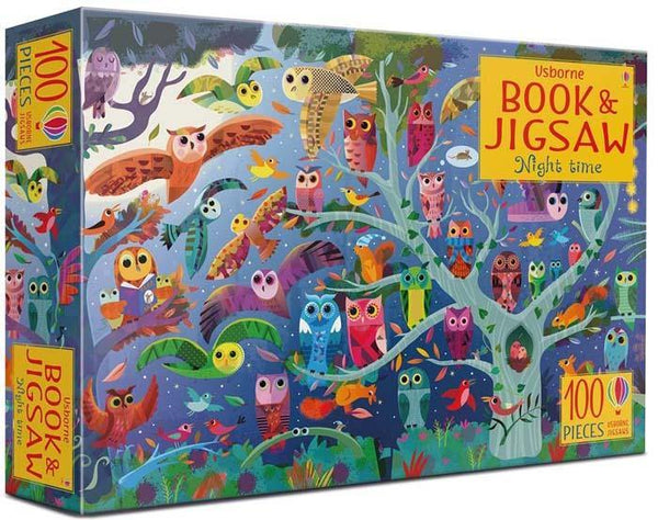 Night time Puzzle Book and Jigsaw-BuyBookBook