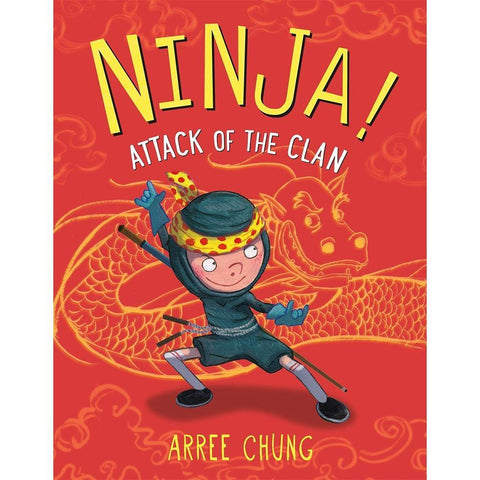 Ninja! #02 Attack of the Clan (Hardback)-BuyBookBook