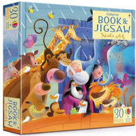 Usborne Noah's Ark Picture Book and Jigsaw (30 pcs)-BuyBookBook