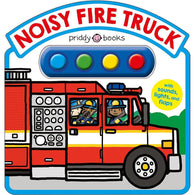 Noisy Fire Truck Sound Book (Hardback)-BuyBookBook
