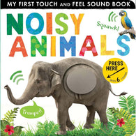 Noisy Animals (Touch and Feel Sound Board Book)-BuyBookBook