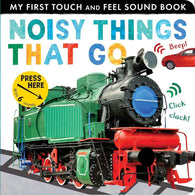 Noisy Things That Go (Touch and Feel Sound Board Book)-BuyBookBook