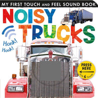 Noisy Trucks (Touch and Feel Sound Board Book)-BuyBookBook