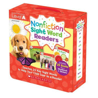 Nonfiction Sight Word Readers Parent Pack Level A (25 book)-BuyBookBook