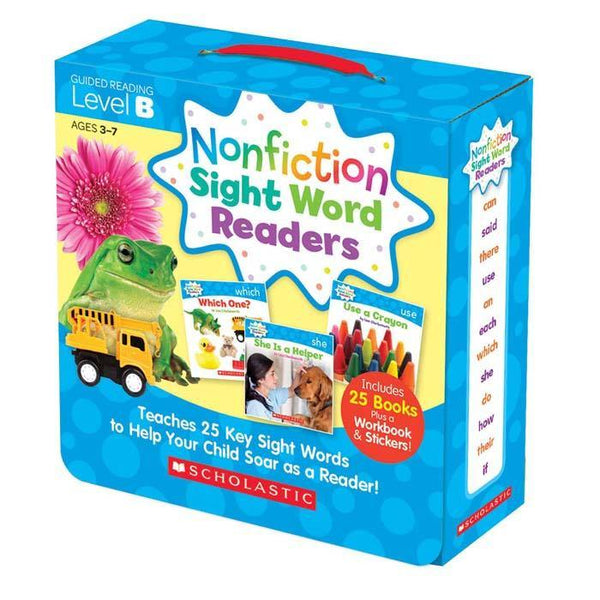 Nonfiction Sight Word Readers Parent Pack Level B (25 book)-BuyBookBook