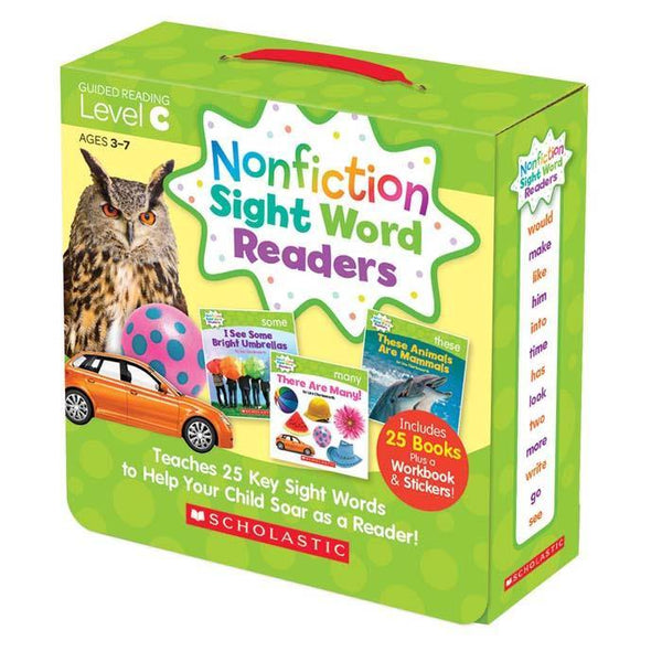 Nonfiction Sight Word Readers Parent Pack Level C (25 book)-BuyBookBook