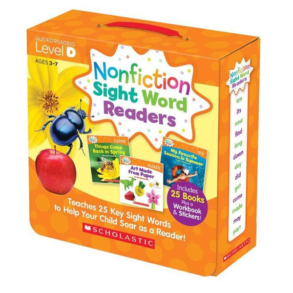 Nonfiction Sight Word Readers Parent Pack Level D (25 book)-BuyBookBook
