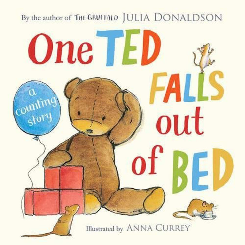 One Ted Falls Out of Bed (Board Book) (J. Donaldson)-BuyBookBook