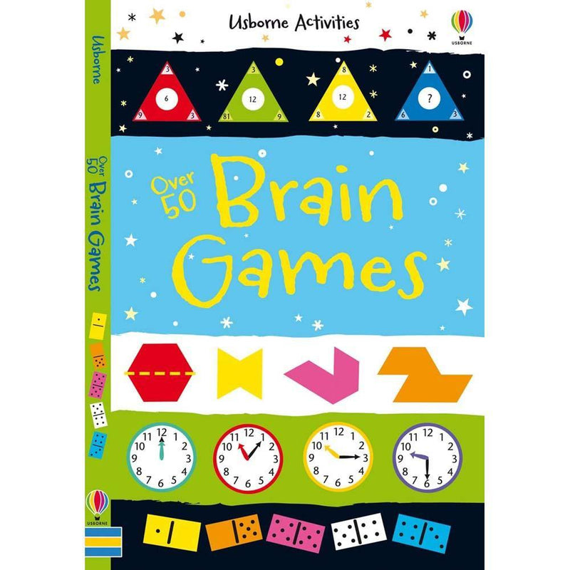 Over 50 brain games-BuyBookBook