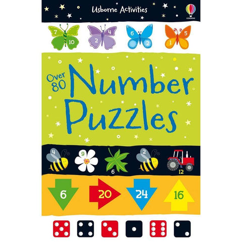 Over 80 number puzzles-BuyBookBook