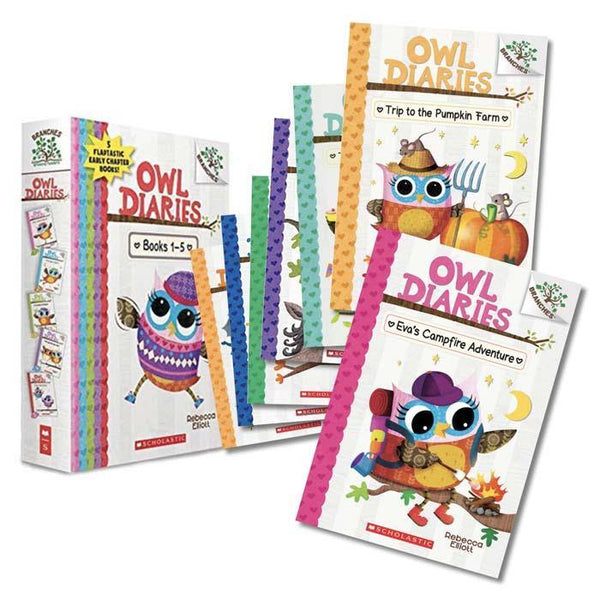 Owl Diaries #01-12 Bundle (12 Books)-BuyBookBook